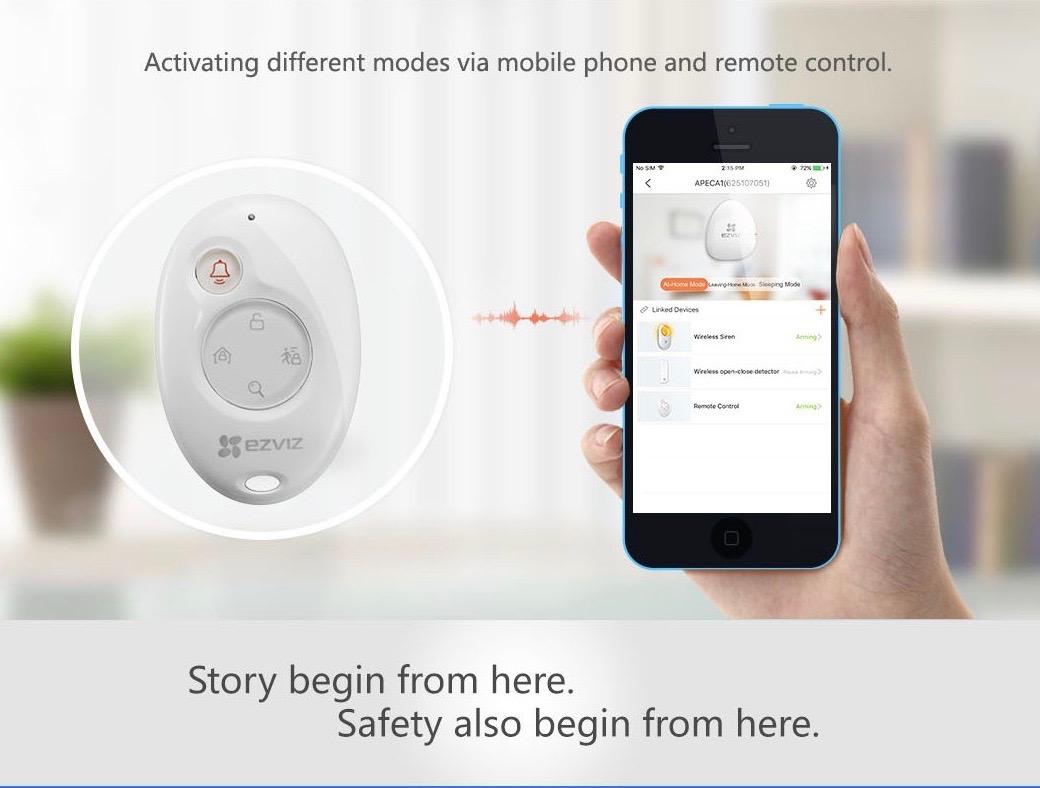 EZVIZ A1 Wireless Alarm Hub
