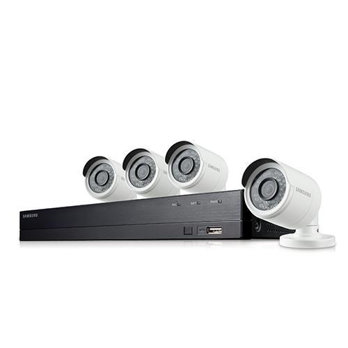 Samsung Full HD 8ch/4cam CCTV Kit (SDH-B74041)-Refurbished