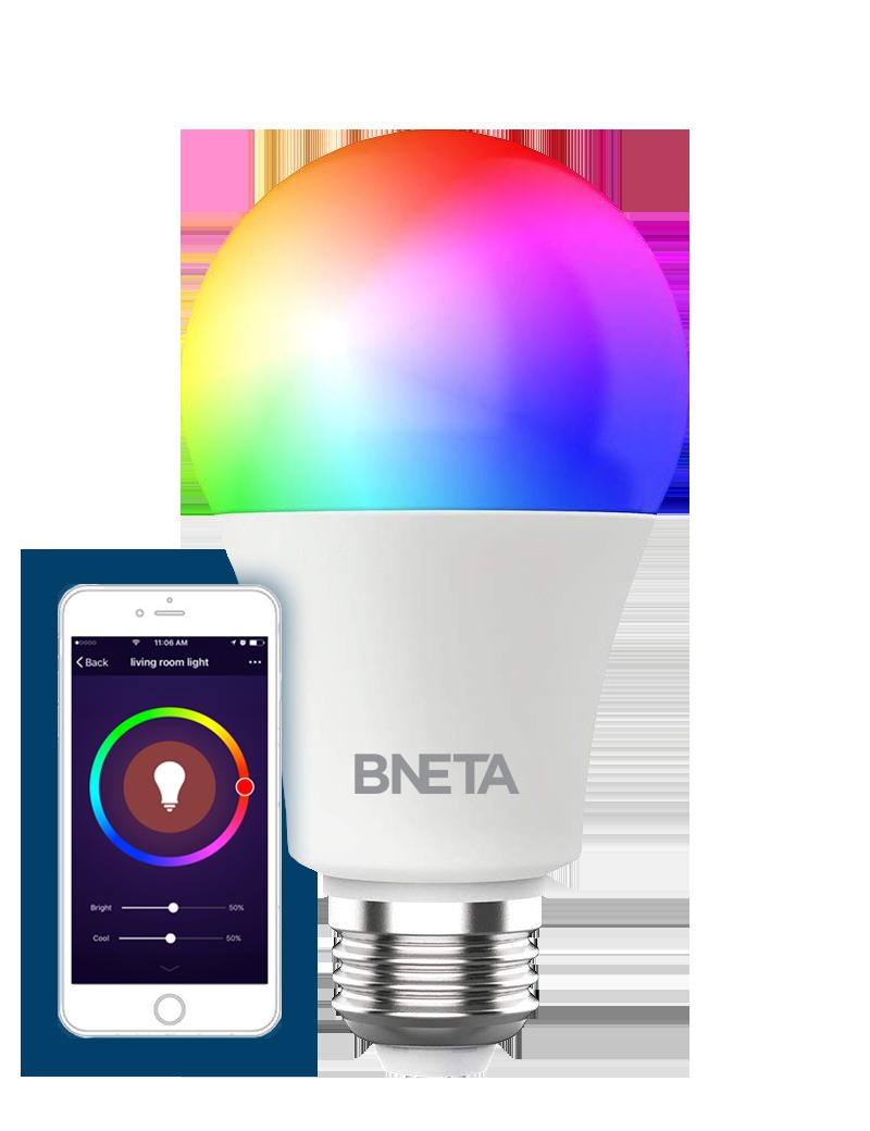BNeta IO-WIFI60-E27P 800lm