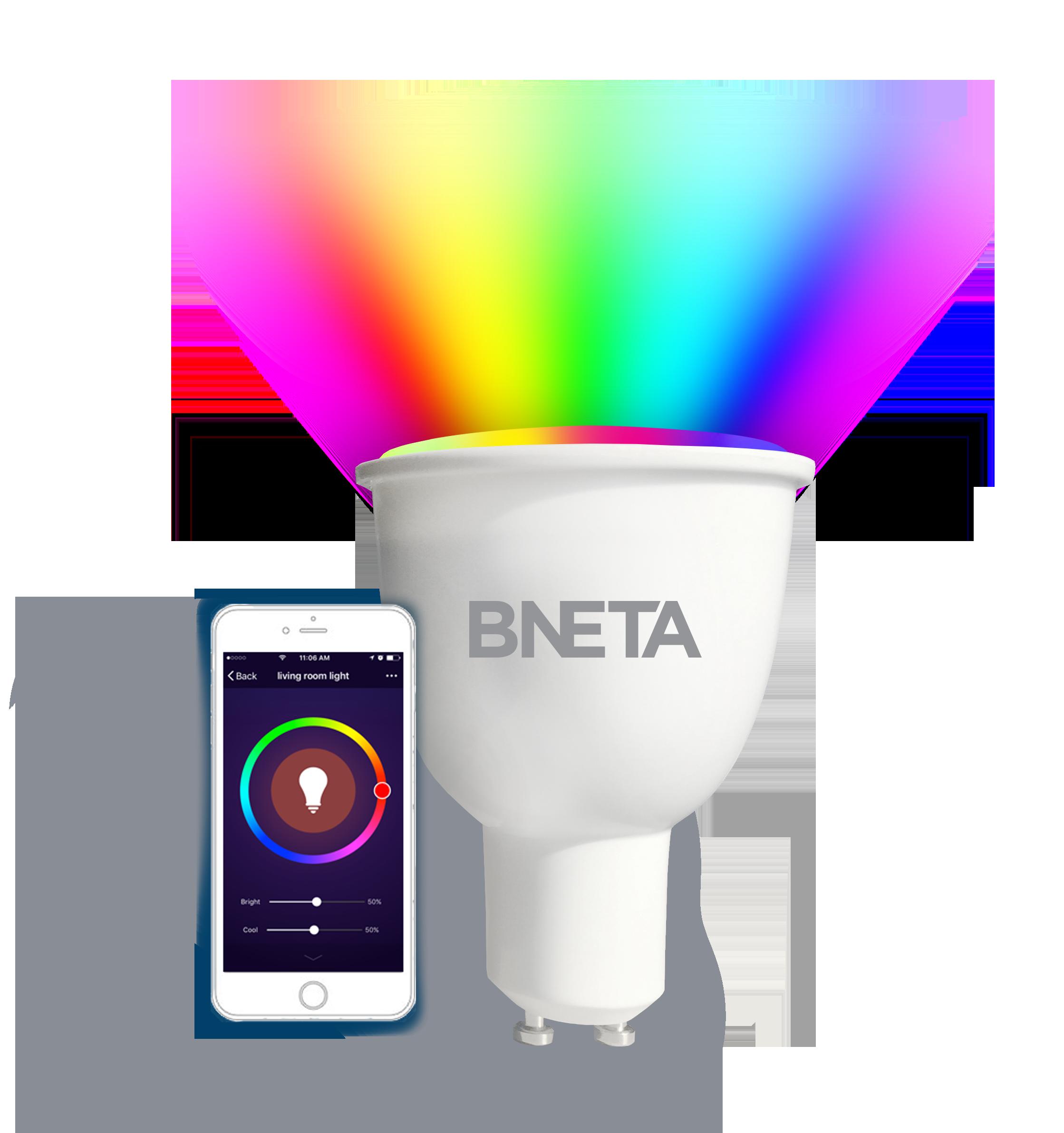 BNeta IO-WIFI-GU10 380lm